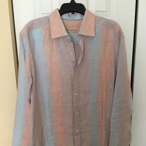 Tommy Bahama linen long sleeve shirt